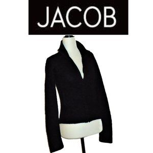 Jacob Fitted Cardigan with Detail • Zipper
